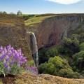 Phantom Falls in the spring.- Fern Falls + Coal Canyon Falls