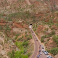 The Canyon Overlook parking area.- Clear Creek Hike