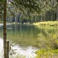 Echo Lake.- Greenwater + Echo Lakes