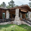 The park visitor center is just next door to the lodge.- Grand Canyon Lodge, North Rim
