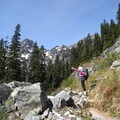 You will be able to see Chair Peak from the Source Lake Trail.- Chair Peak