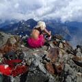 Beautiful views on the summit.- Chair Peak