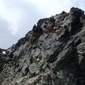 Final summit block.- Chair Peak