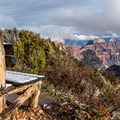 Great views of the Grand Canyon are just steps away from the campground.- North Rim Campground
