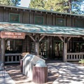 The general store has a good variety of food, camping, and gift items.- North Rim Campground