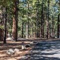 Tent campers have their own area far from the general camping loop.- North Rim Campground