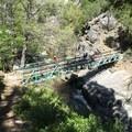 A bridge over Chambers Creek. - Chambers Creek Falls