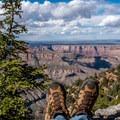 A view is always better when it is earned!- Cape Final Trail