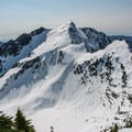 Ridge from Vesper to Sperry.- Sperry Peak
