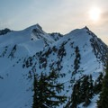 Vesper Peak from Sperry Peak.- Sperry Peak