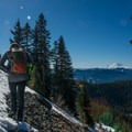 Sweeping views of Mount Rainier.- Kendall Peak