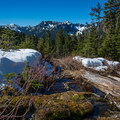 Beautiful views of the Alpine Lakes Wilderness.- Kendall Peak