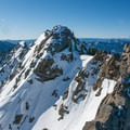 View south to the next summit.- Kendall Peak
