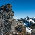 At the summit of Kendall Peak.- Kendall Peak