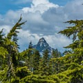 Looking at Kaleetan.- Granite Mountain Lookout
