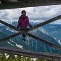 Granite Mountain Lookout.- Granite Mountain Lookout