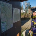 Trail maps at the summit.- Tiger Mountain