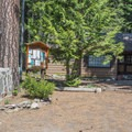 Chatter Creek Cabin.- Chatter Creek Campground