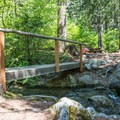 Typical site in Chatter Creek Campground.- Chatter Creek Campground