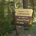 Campers Flat Campground.- Campers Flat Campground