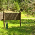 Fee station and water pump in Campers Flat Campground.- Campers Flat Campground