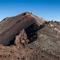 Diamond Peak (8,743 ft) from the false summit.- Diamond Peak, Marie + Rockpile Lakes