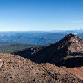 The north peak from the summit of Diamond Peak.- Diamond Peak, Marie + Rockpile Lakes