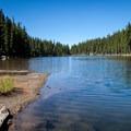 Marie Lake.- Diamond Peak, Marie + Rockpile Lakes