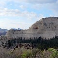 View of North Guardian Angel from the trail.- North Guardian Angel Climb