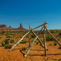 Unknown purpose for this structure along the trail, but the view is great.- Wildcat Trail Hike