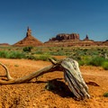 The stone monoliths of Monument Valley are spectacular from any angle.- Wildcat Trail Hike