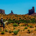 Guided trail rides on Navajo horses are available throughout the valley.- Wildcat Trail Hike