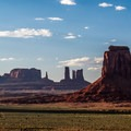 Sunset from the North Window Overlook.- Monument Valley Navajo Tribal Park