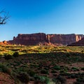 Sunrise from the Valley Drive.- Monument Valley Navajo Tribal Park