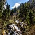 East Fork of the Wallowa River.- Aneroid Lake