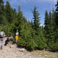 The entrance to the Vista Ridge Trailhead.- Vista Ridge Trail Hike