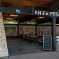 The Knife Edge Cafe features their all-you-can-eat pancake breakfast.- Morefield Campground