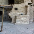 The ancestral Puebloans abandoned this dwelling around 1300 AD.- Spruce Tree House