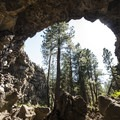 The iconic view of Hidden Forest Cave.- Hidden Forest Cave