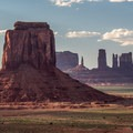Late afternoon from the Valley Drive.- Monument Valley Navajo Tribal Park