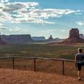 Artist's Point Overlook.- Monument Valley Navajo Tribal Park