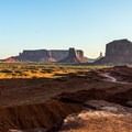 Sunrise from John Ford's Point.- Monument Valley Navajo Tribal Park