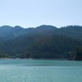 Hills Creek Reservoir.- Packard Creek Campground