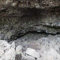 Another view inside the cave.- Hidden Forest Cave
