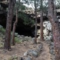 Hidden Forest Cave from the outside.- Hidden Forest Cave