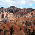 The sedimentary stripes make for good photography in the right light.- Fairyland Loop