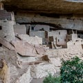 The Puebloan people only lived in these cliff dwellings for about 100 years.- Cliff Palace