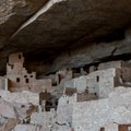 The deep alcoves provided a natural shelter for the communities.- Cliff Palace