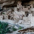 The original builders incorporated the in-place boulders into their structures.- Cliff Palace