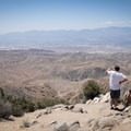 Plenty of dust and smog in the Coachella Valley, but the views are still worthwhile.- Keys View